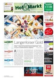 Hof&Markt   Fleisch&Markt   Hof&Gast 04/2019