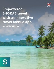 An Innovative Travel Mobile App & Website for SHOKAS Travel