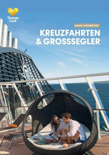 THOMAS COOK Kreuzfahrten und Grosssegler 2020