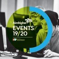 Aim Higher Events Brochure