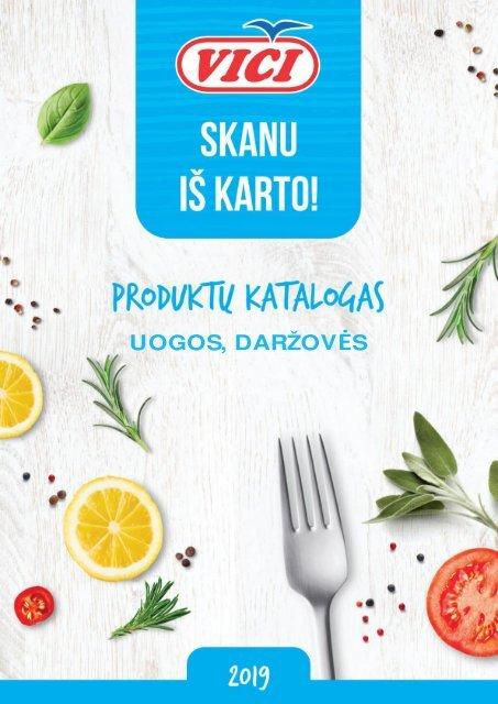 LT katalgas 2019 uogos, daržovės