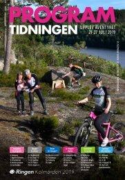 Programtidningen O-Ringen Kolmården 2019