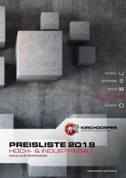 Preisliste Kirchdorfer Concrete Solutions | Hoch- & Industriebau