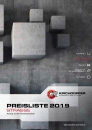 Preisliste Kirchdorfer Concrete Solutions | Straße