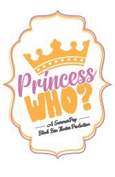 Princess Who? Program