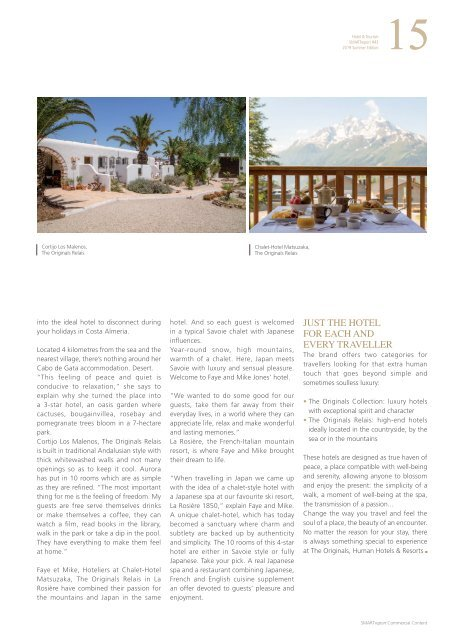Hotel & Tourism SMARTreport #43