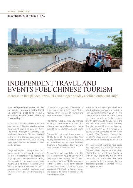 Hotel & Tourism SMARTreport #43