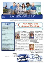 New York Nurse - July 2019