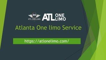 Atlanta One limo Service - Hummer Limo Atlanta, Atlanta Wedding Limo Service