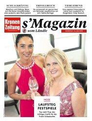 s'Magazin usm Ländle, 14. Juli 2019
