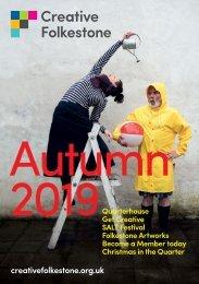 Creative Folkestone Autumn Brochure