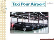 Taxi Pour Airport