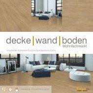 dwb Produktinformation VinylBoden Kollektion EcoLine Norddeutsche Eiche