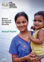The Global Health Network Annual Report 2019