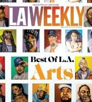 LA Weekly Best of Arts 2018