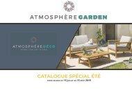 Catalogue Spécial été Atmosphère Garden
