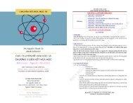 CÁC CHUYÊN ĐỀ HÓA HỌC 10 CHƯƠNG 3 LIÊN KẾT HÓA HỌC - NGUYỄN VĂN CẢNH