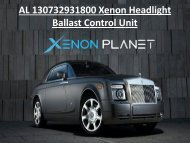 AL 130732931800 Xenon Headlight Ballast Control Unit