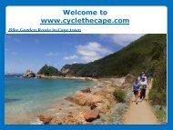 Bike Garden Route in Cape town