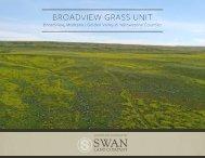 BROADVIEW GRASS UNIT Offering Brochure