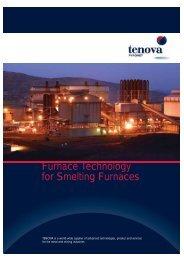 Furnace Technology for Smelting Furnaces - Tenova