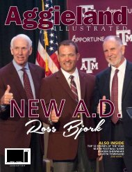 Aggieland Illustrated July/August 2019