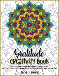 Gratitude Creativity Book