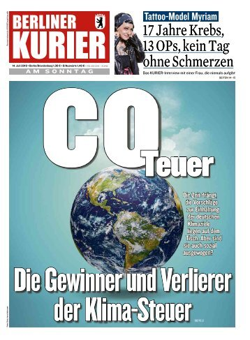 Berliner Kurier 14.07.2019