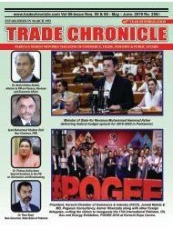 Trade Chronicle MAY - JUNE 19