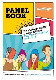 YouthSight Panel Book 2019
