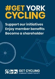 Get Cycling Community Benefit Society