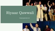 Rahat Fateh Ali Khan Songs Performed by Riyaaz Qawwali