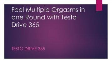 Testo Drive 365 Benefits