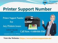 Call Now Printer Support Number +(1)-888-846-5560
