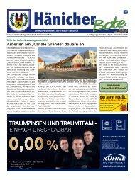 Hänicher Bote | November-Ausgabe 2018