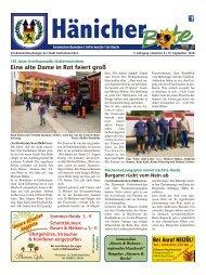 Hänicher Bote | September-Ausgabe 2018