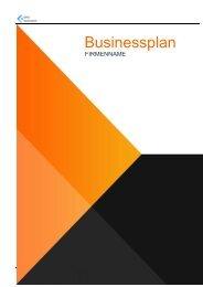 Businessplan Vorlage Schweiz