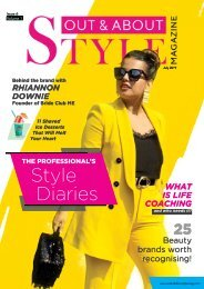 Out and About STYLE Mag. Issue 6 Vol. 1