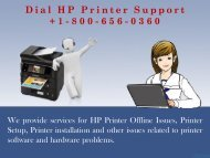 Find the Expert solution for HP printer issues at +1-844-919-1777