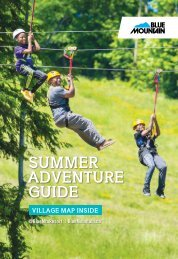 Blue Mountain Summer Adventure Guide 2019