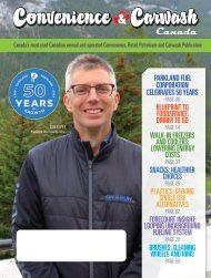 Convenience & Carwash Canada magazine JULY AUG 2019