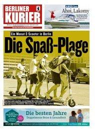 Berliner Kurier 15.07.2019