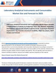 Laboratory Analytical Instruments and Consumables Market Size and Forecast to 2025