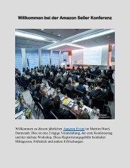 Konferenz und Amazon Event für Verkäufer