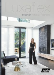 Luxaflex - Products - Interior Solutions Brochure 2019 Gallery