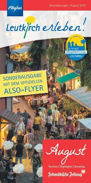 Leutkirch erleben - August 2019