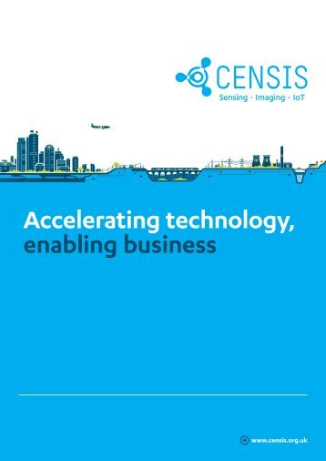2018_CENSIS Accelerating technology general brochure