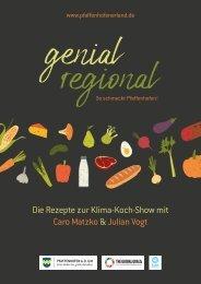 Genial Regional Rezeptesammlung