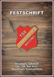 Festschrift 60 Jahre TSV Traunwalchen