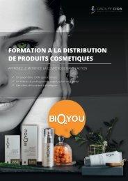 E-Book Formation à la distribution de produits BIO2YOU